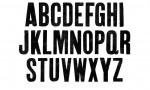 Adobe Photoshop Texture  0002  Tex Herbal Letterpress Condensed Uppercase Ink