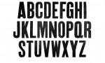 Adobe Photoshop Texture  0003  Tex Herbal Letterpress Condensed Uppercase Grainy