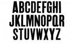 Adobe Photoshop Texture  0004  Tex Herbal Letterpress Condensed Uppercase Distressed
