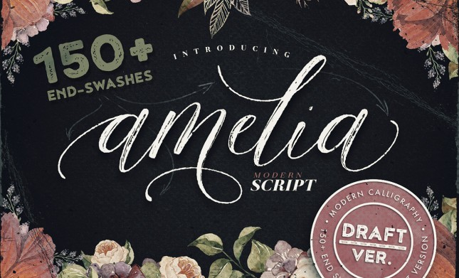 Calligraphy Typeface