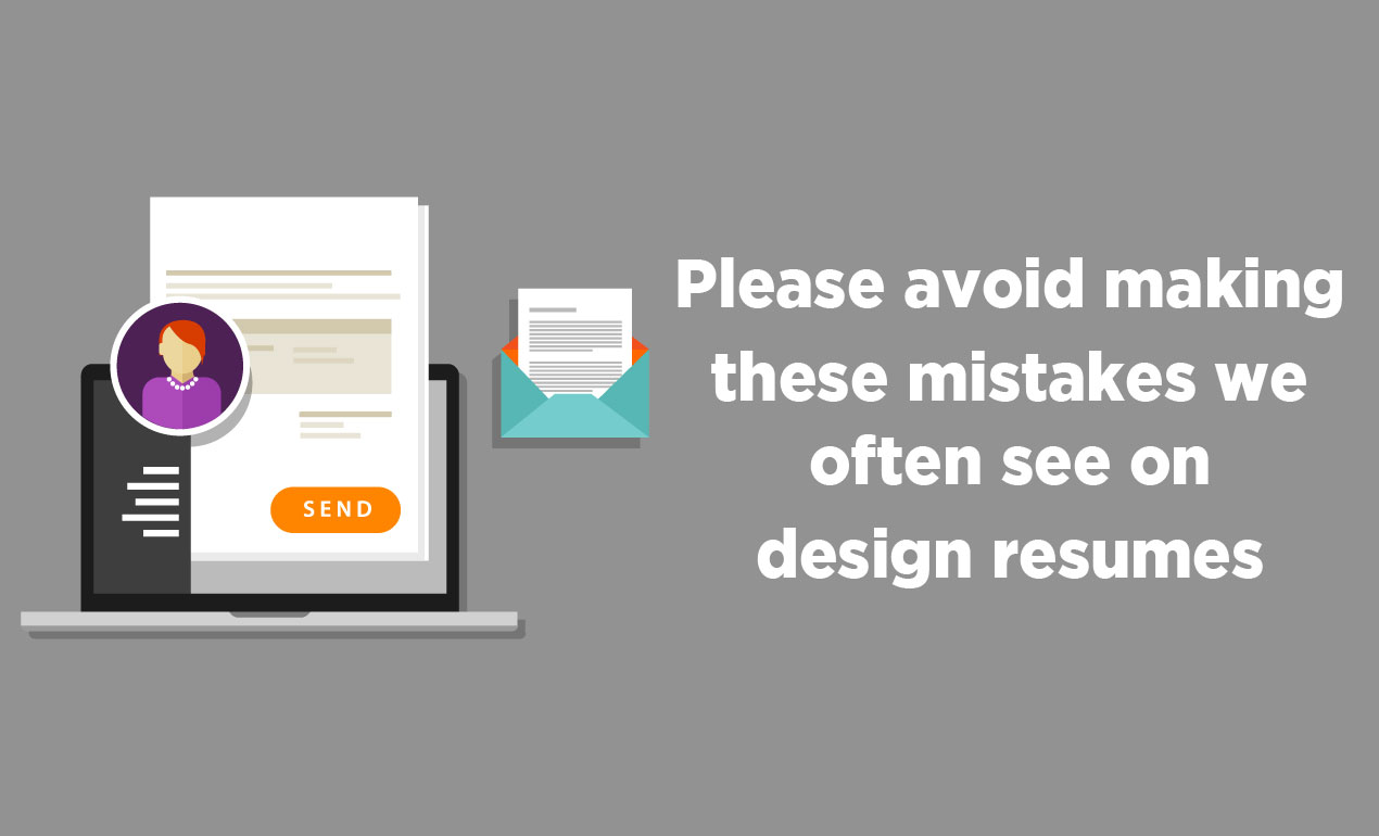 Mistakes on Design Resumes