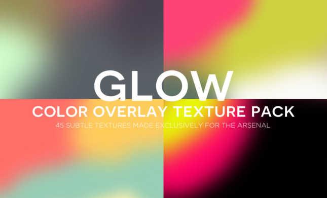 Color Overlay / Light Leak Textures