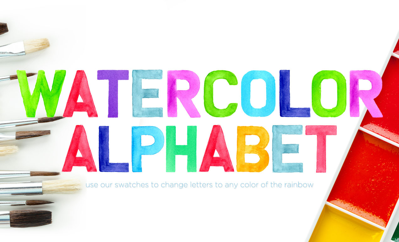 20 Fabulous Watercolor Fonts That Will Amaze You