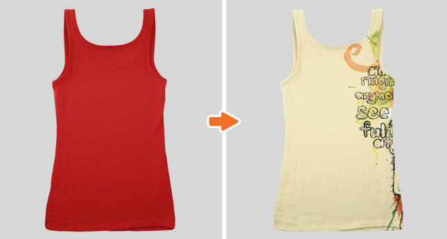 Ladies Basic Tank Top Mockup Templates Pack