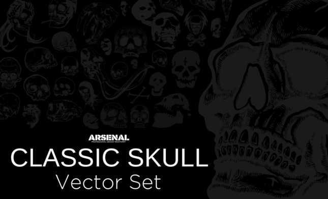 Classic-Skull-Vector-Set-Hero