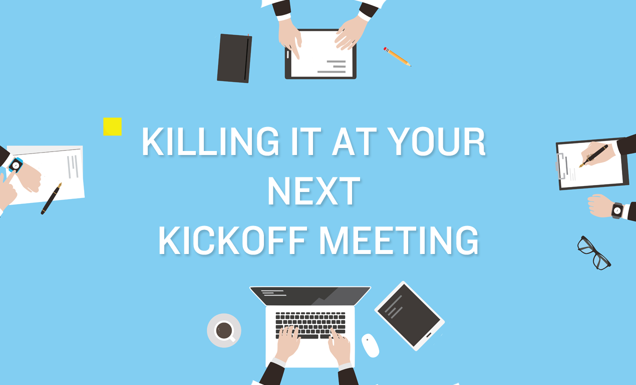 How to Run a Successful Graphic Design Kickoff Meeting