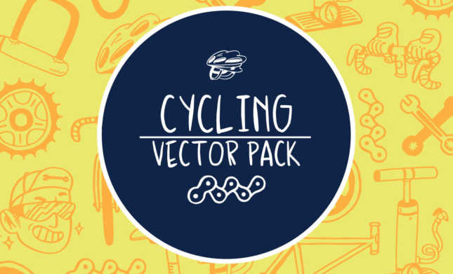 Cycling Vector Pack