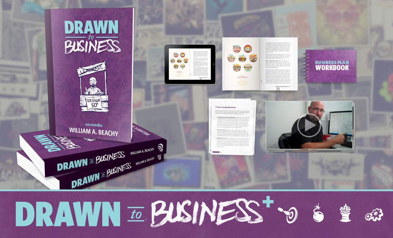Drawn-to-Business-Plus-Package