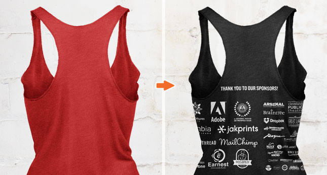 b74aaabfb834c2 Ladies Triblend Racerback Tank Top Ghosted Templates Pack - Go Media ...