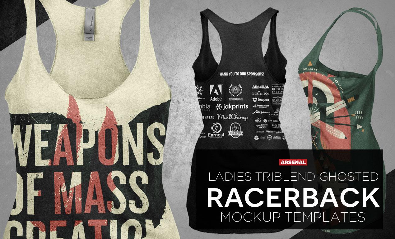 Ladies Racerback Tank Top