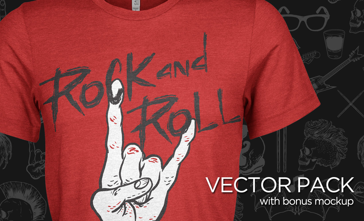 Rock and Roll Vector Pack