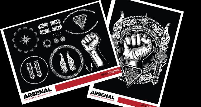 Fistful T Shirt Design Graphic By Go Media S Arsenal And Dedda Sutanto