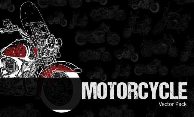 Motorcycle Vector Pack