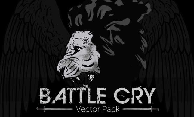 Battle-Cry-Vector-Pack-weaponry-vectors-Hero1