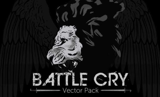 Battle-Cry-Vector-Pack-weaponry-vectors-Hero1