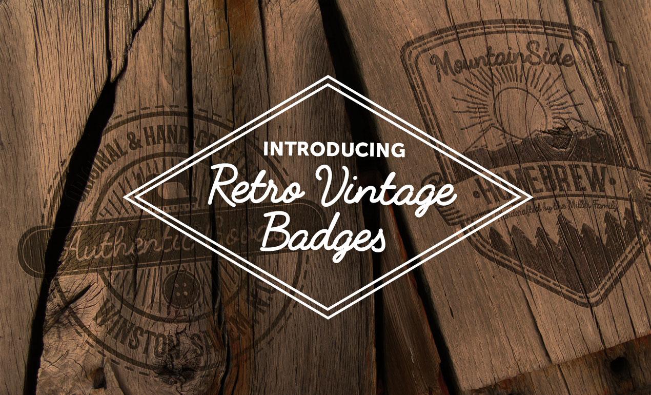 Vintage Badges by Go Media's Arsenal
