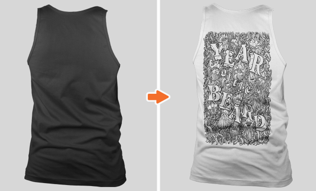 Non-Ribbed Tank Top Mockup Templates Pack