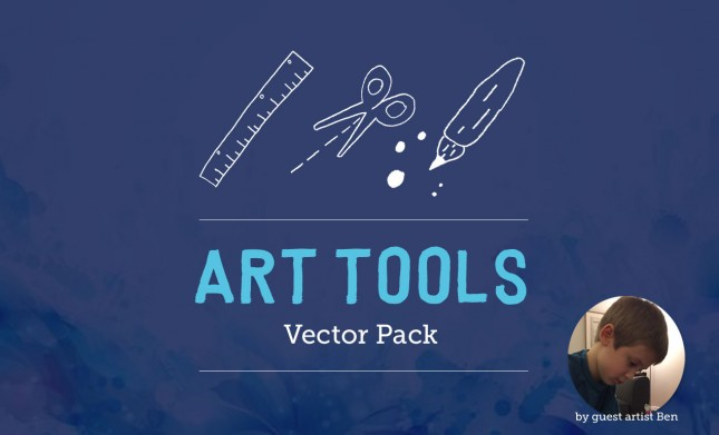 Art Tools Vector Pack