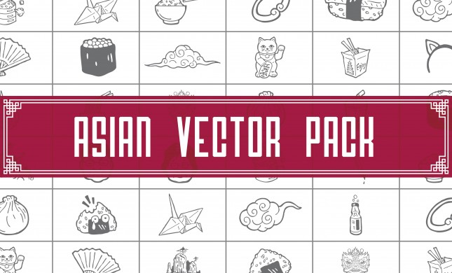 Asian Vector Pack by Go Media