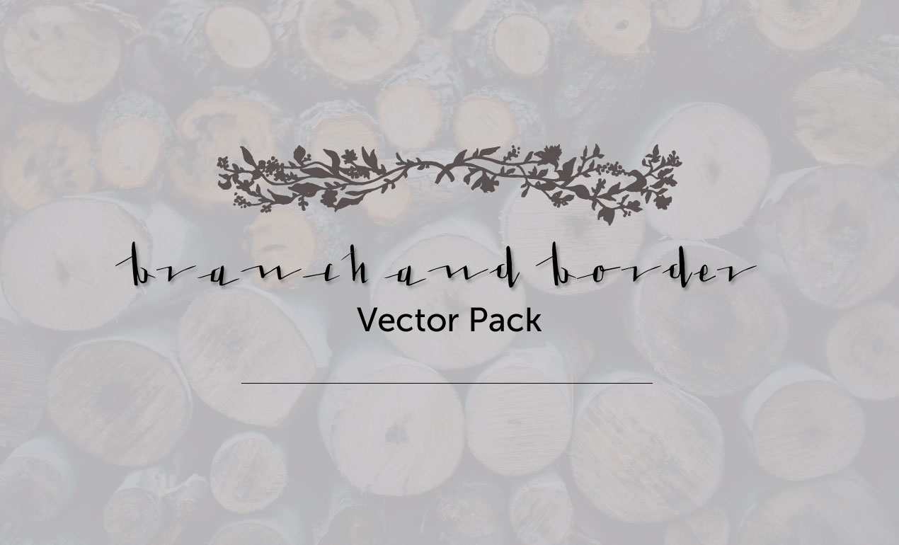 Branch and Border Vectors Pack by Go Media