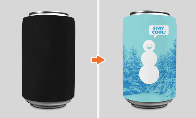 Cans And Cups And Bottle Mockup