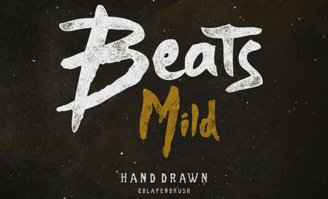 Beats Display Font & Texture Pack HERO