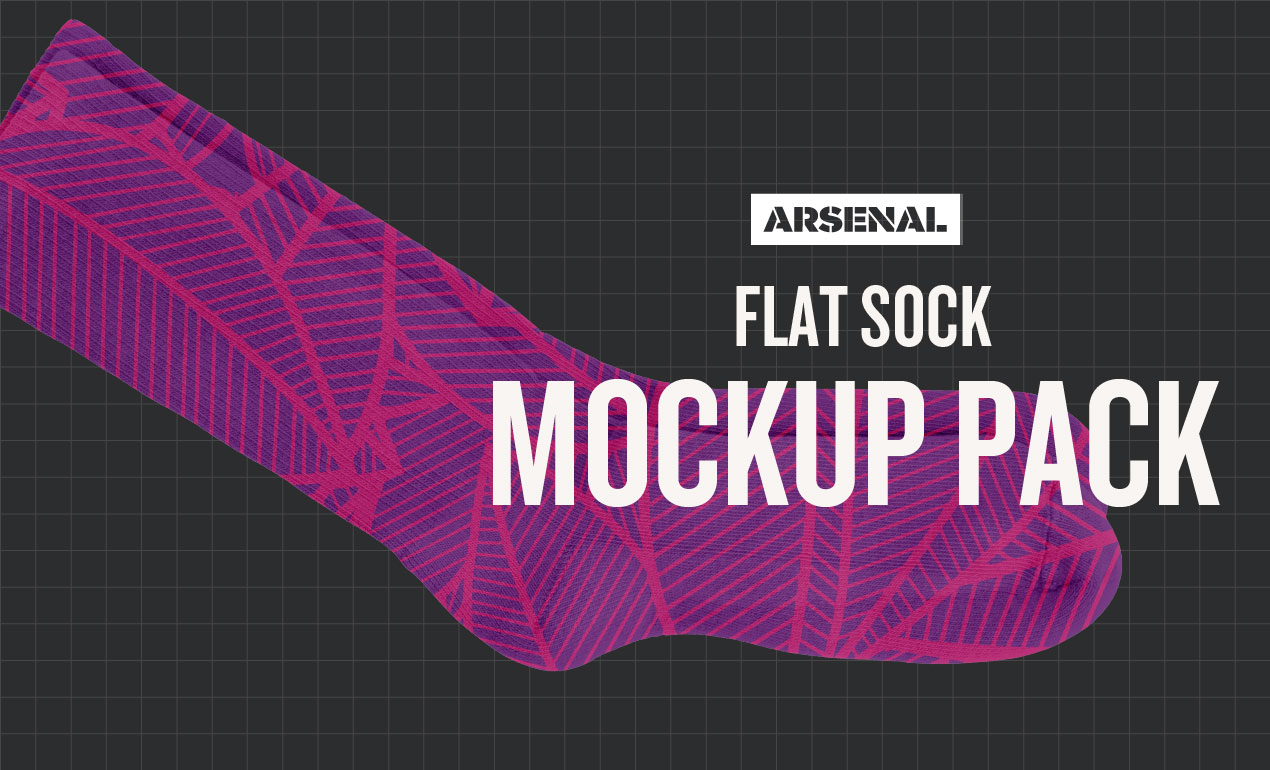 Sock Mockup Templates by Go Media