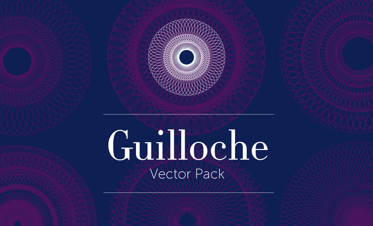 Questions Guilloche Vector Pack