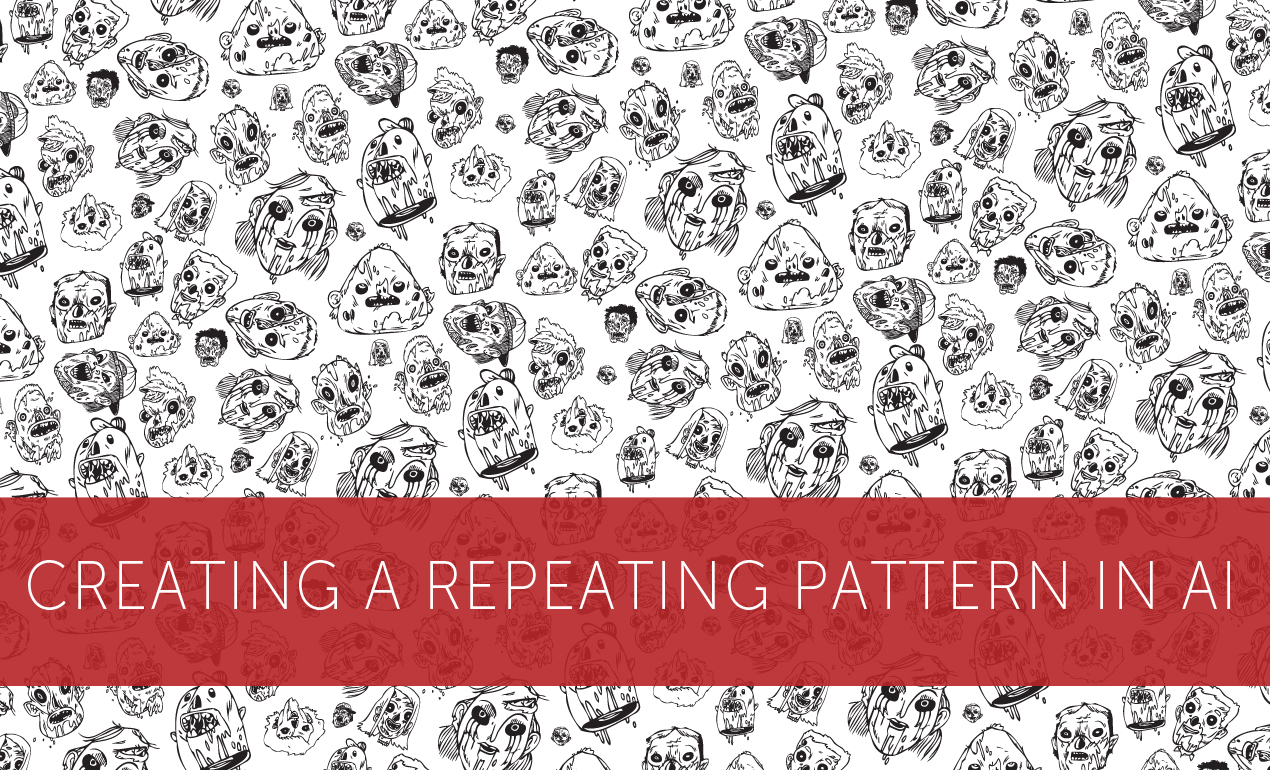 How to Create a Repeating Pattern in Illustrator