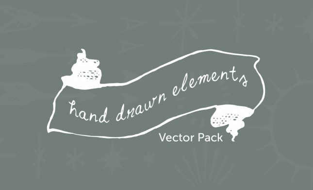 Hand-Drawn-Elements-Vector-Pack2