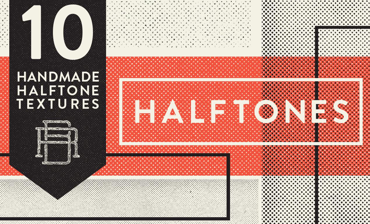 Handmade Halftone Texture Pack