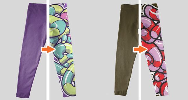 kids apparel essentials mockup templates pack kids t shirt