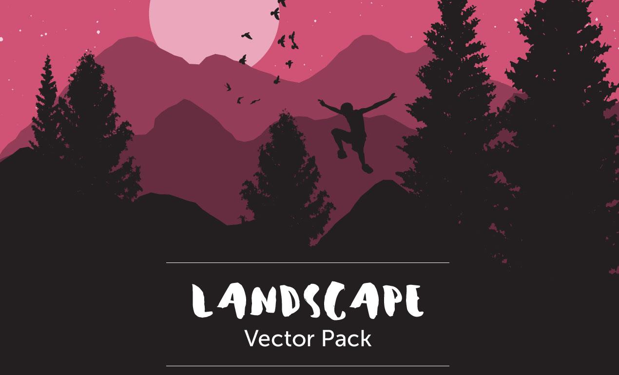 Landscape Vectors Pack by Go Media