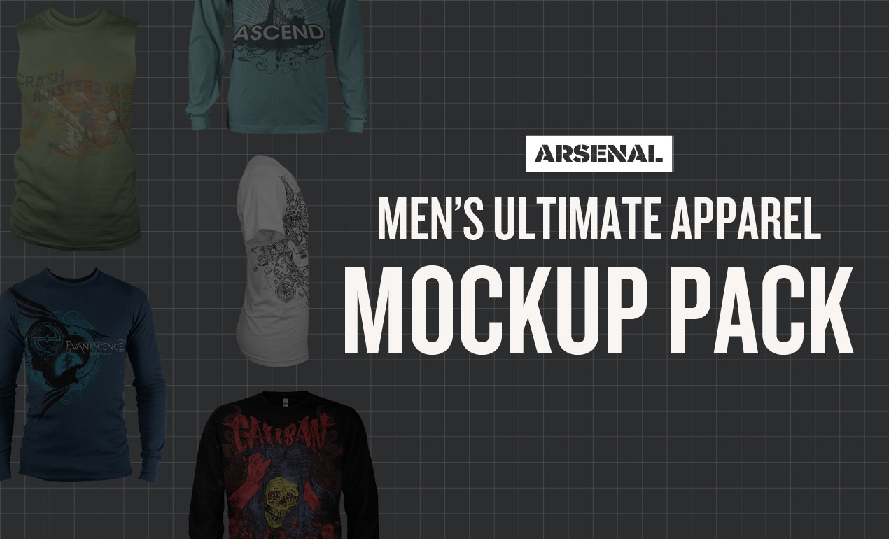 Men's Apparel Mockups