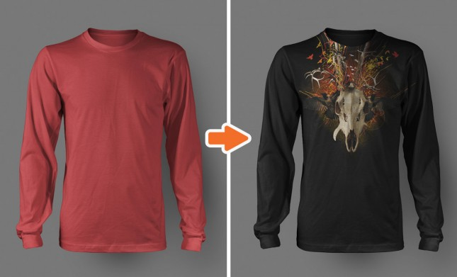 Men's Long Sleeve Shirt Mockup Templates Pack 3