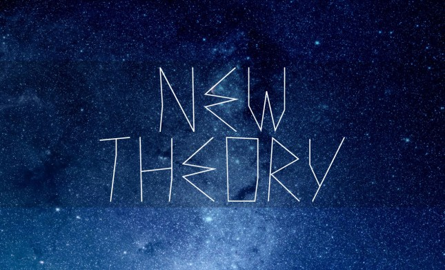 New Theory Display Font