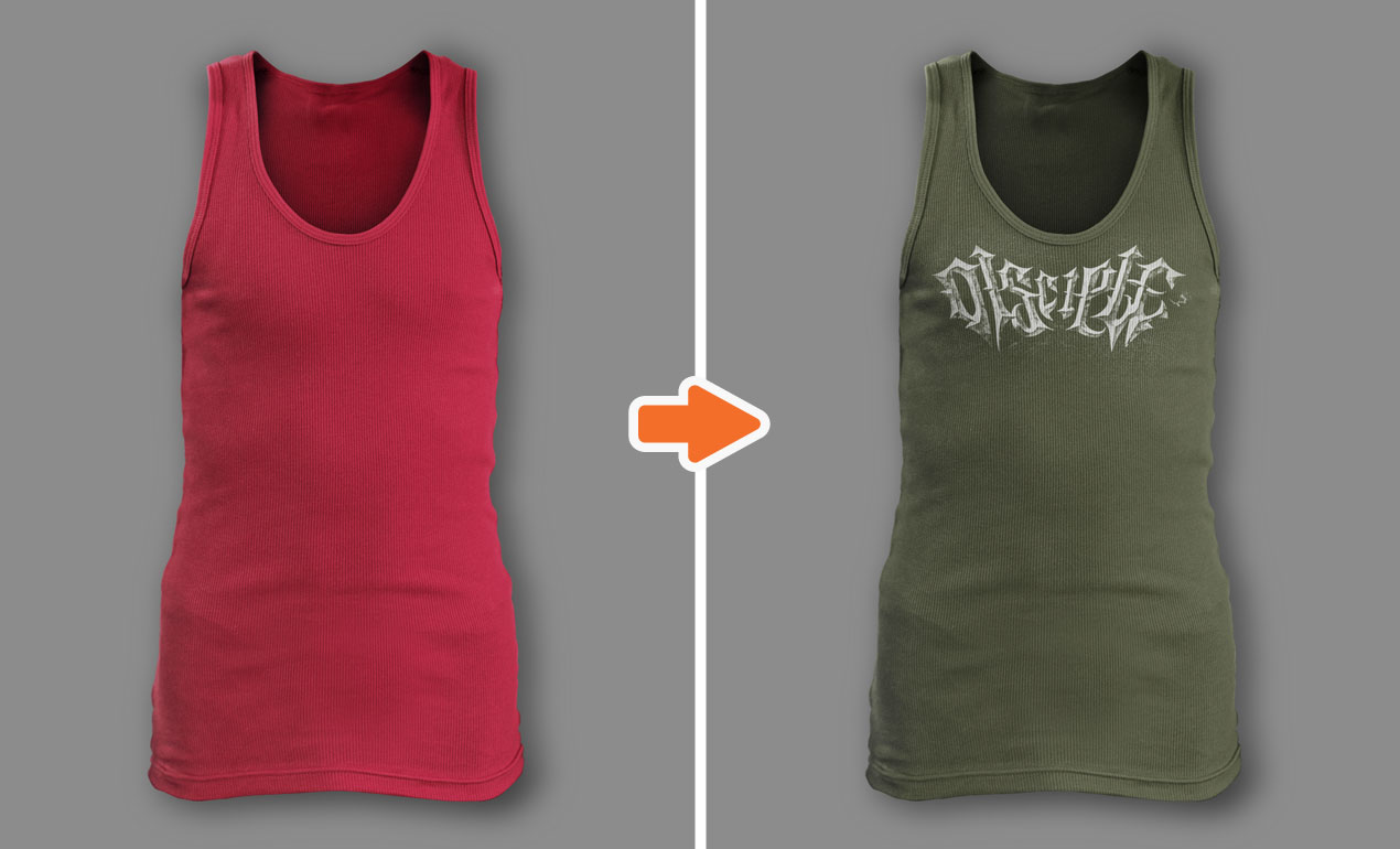 Photoshop Men S Ribbed Tank Top Templates Pack By Go Media