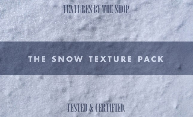 Snow Texture Pack