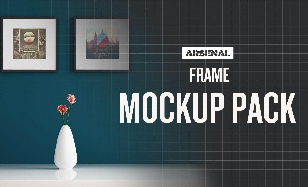 Frame Mockup Templates Pack by Go Media