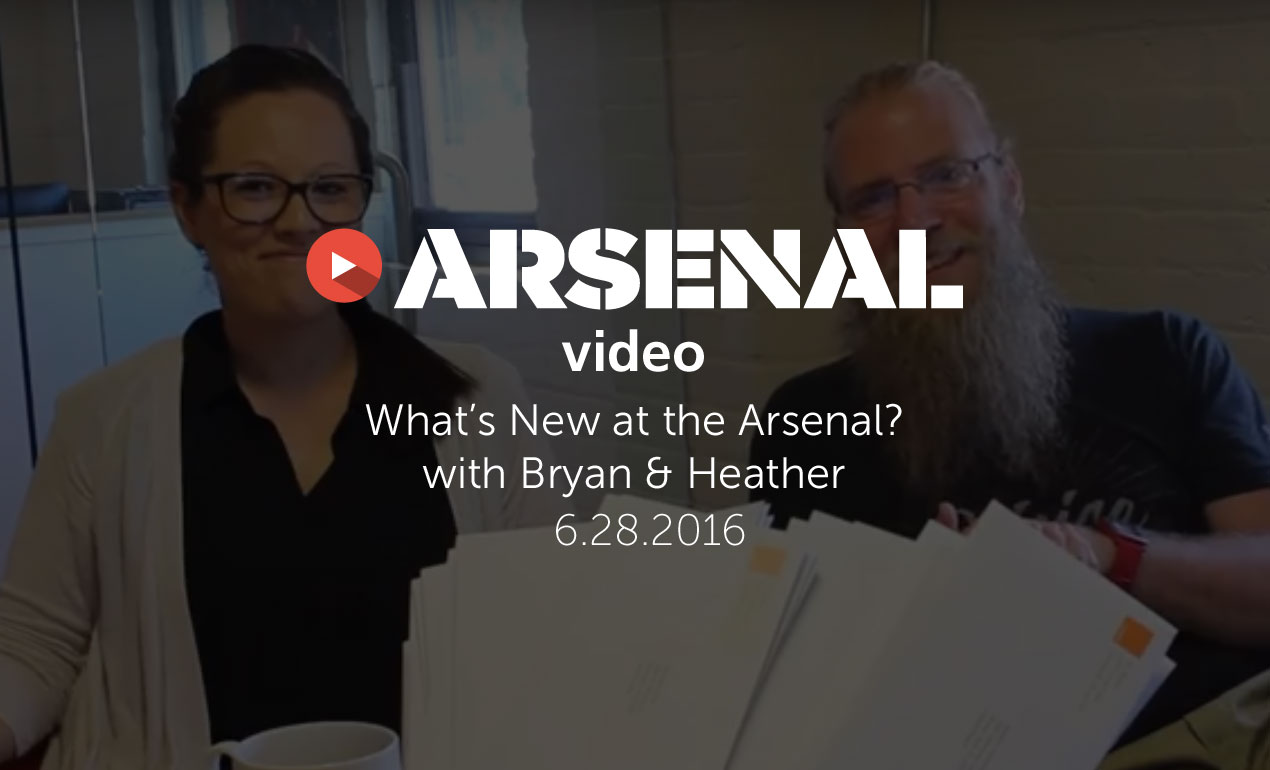 What's New at Go Media's Arsenal? Ep. 10: 6.28.2016