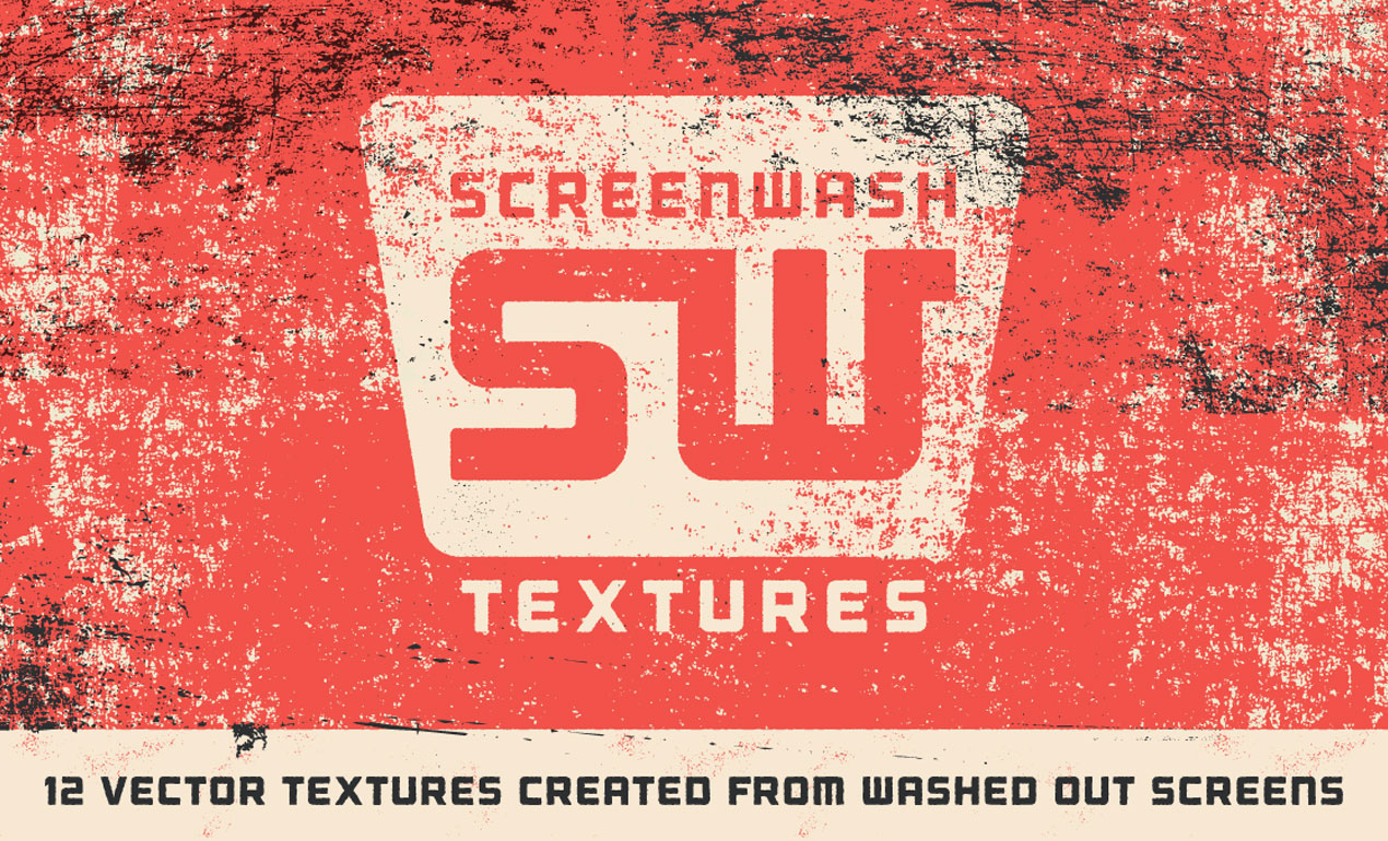 Vintage Screenwash Texture Pack Hero