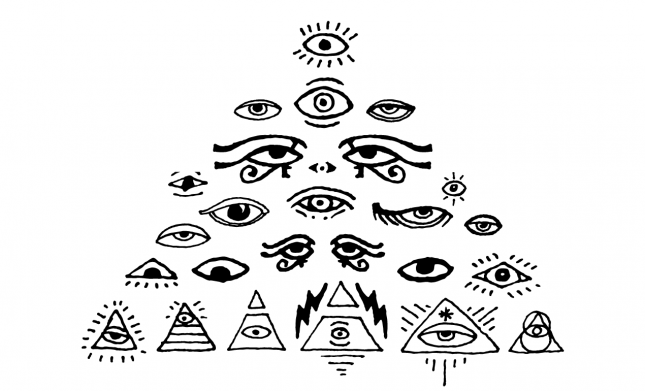 All Seeing Eyes Vector Pack for Adobe Illustrator