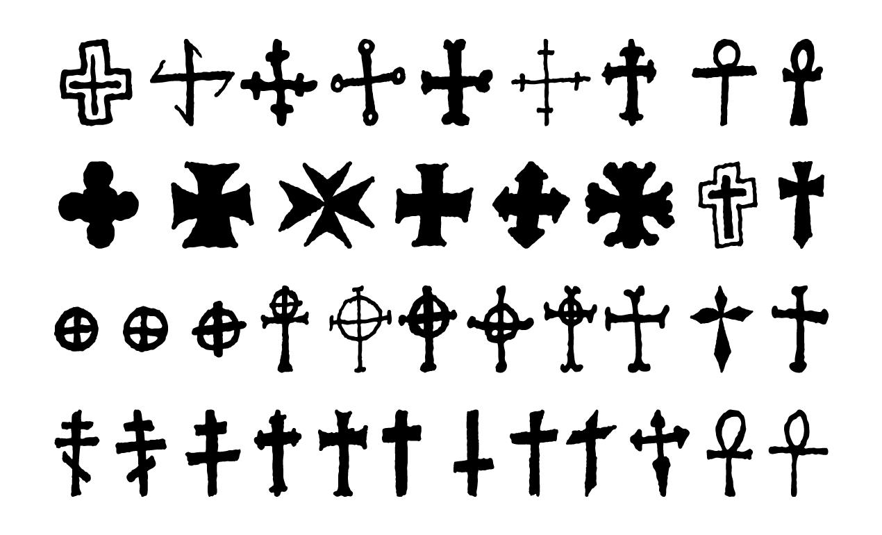 Crosses vector pack for adobe illustrator crosses biocorpaavc