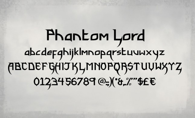 display-font-phantom-lord-hero