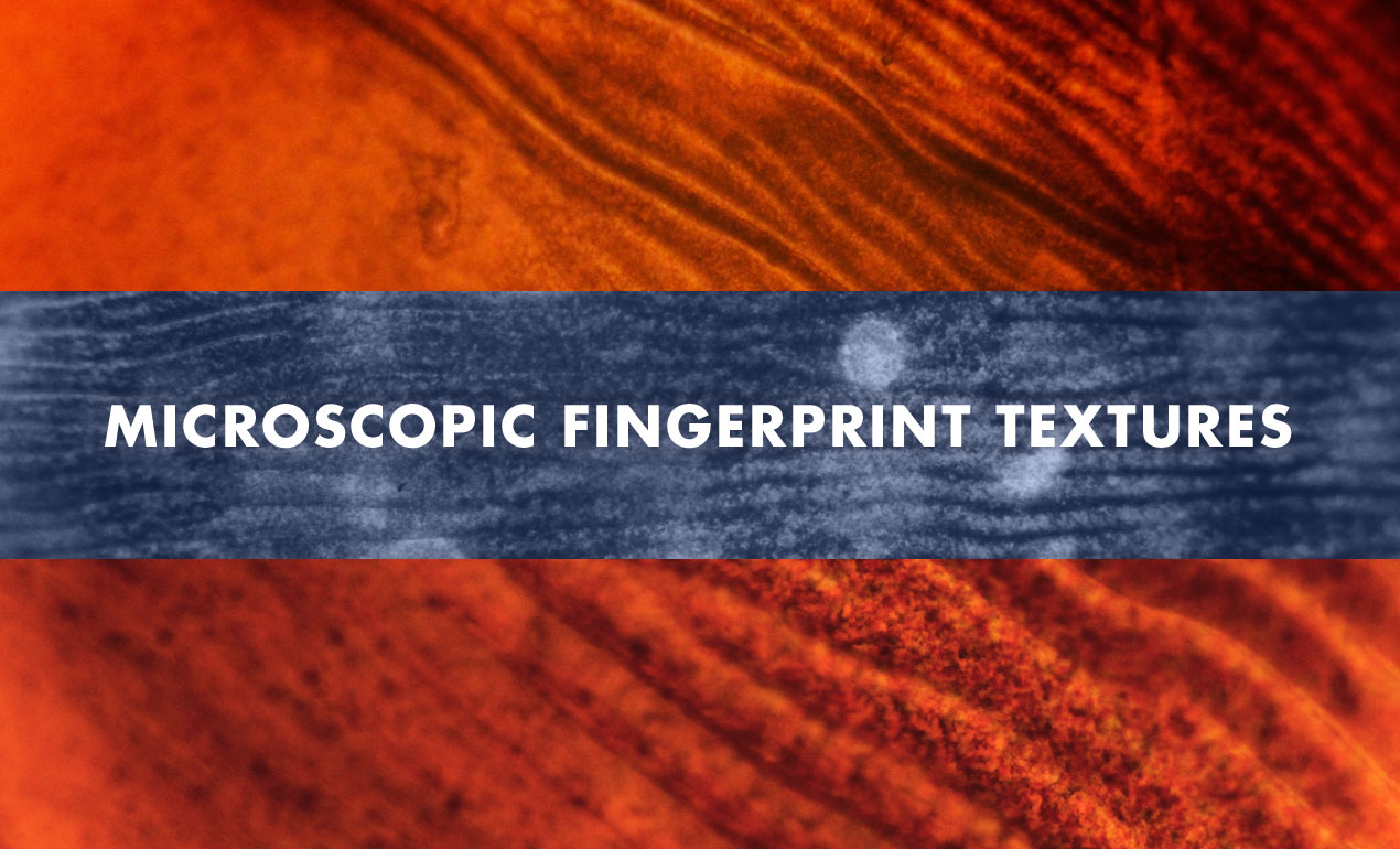 Microscopic Fingerprints Texture Pack by Go Media's Arsenal