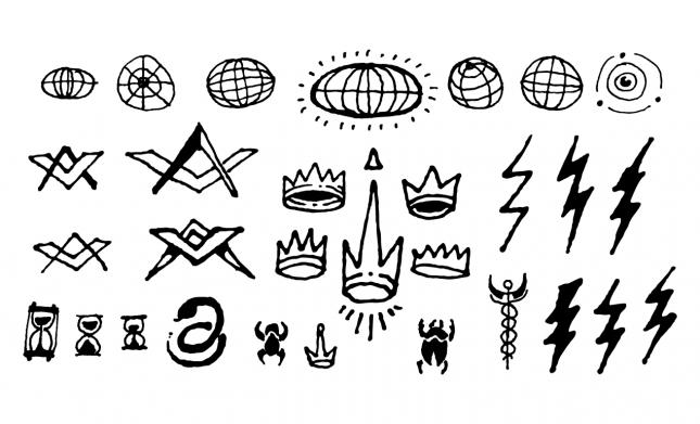 Esoteric Symbols Vector Pack