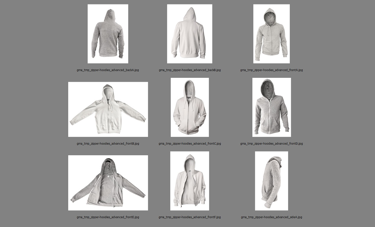 Introducing our Photoshop Advanced Hoodie Mockup Templates Pack