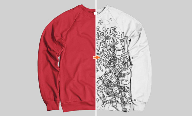 Men S Sweatshirt Mockup Templates Pack
