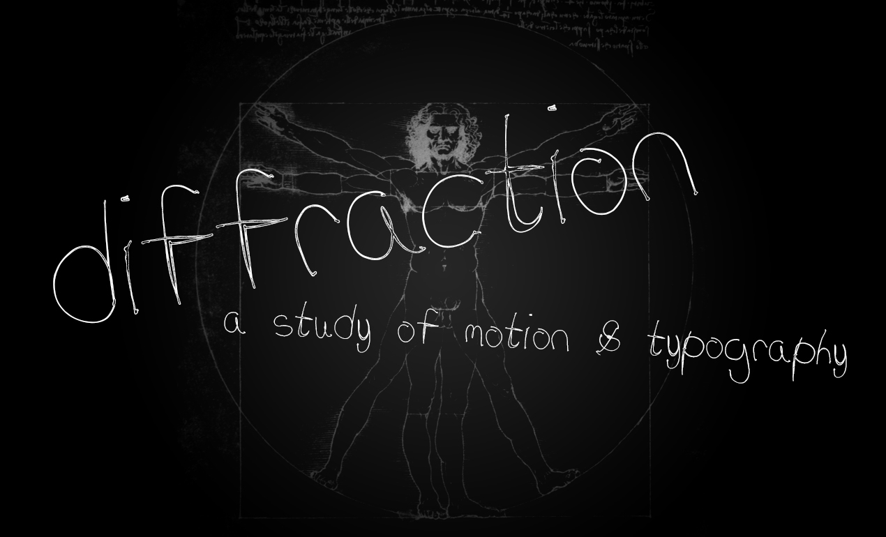 Diffraction Handwriting Font by Go Media's Arsenal