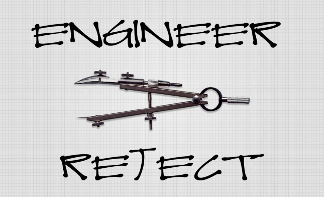 Engineer Reject Handwriting Font